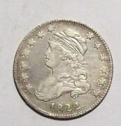 1822 Large Capped Bust Quarter Difficult Date Xf 17c29