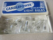 Nos Candlepower 12v/2 Cp Replacement Instrument Wedge Light Bulbs 194 Qty 12