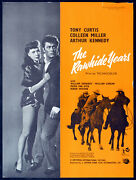 Rawhide Years 1955 Tony Curtis, Colleen Miller, Arthur Kennedy Trade Advert