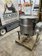Cleveland Kel-40t Stainless Cooking Kettle. 40 Gallon. Electric