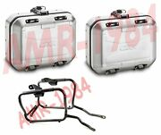 Set Suitcases Givi Dlm30a Dolomiti Aluminum Bmw F 700 Gs From 2013 A 2017