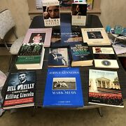 The Kennedys Book Lot Killing Lincoln 12 Total Books John Kennedy Presidents Lot