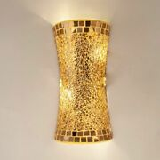 Led Wall Lighting Indoors Retro Sconce Lamps Glass Wall Lamp Vintage E14 Bulb