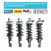 4x Front Rear Shock Absorbers Electric Control For Audi R8 2007-2015 420412020af