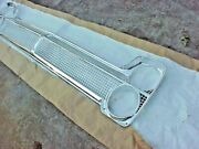 1965 Plymouth Fury Sport Fury Grille And Headlamp Bezels Restored