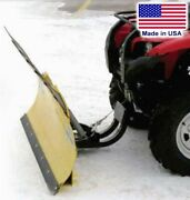 50 Atv Snow Plow For Yamaha Grizzly - Front Mount - Quick Connect Bracket