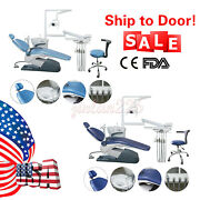 Usa Dental Unit Chair Hard Leather Computer Controlled Dc Motor Stool Fda Ce A1