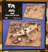 Verlinden 1736 1/48 Airfield Section Psp Plated Vintage Resin And Photo-etch