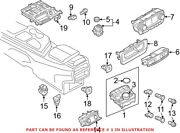 Genuine Oem Combination Switch For Audi 4m0919615h