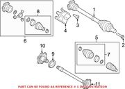 Genuine Oem Front Cv Axle Assembly For Audi 80a407271d