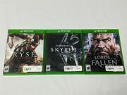 Skyrim Special Edition, Ryse Son Of Rome And Lords Of The Fallen For X-box One
