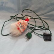 Vintage Santa On/off Switch With Electrical Cord Made In Japan
