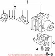 Genuine Oem Abs Hydraulic Assembly For Audi 4n0614517bcbef
