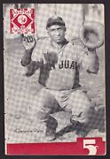 1939-40 Puerto Rico Baseball Program Clarence Palm Cover W/ Ray Brown