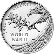 2020 End Of World War Ii 75th Anniversary Silver Medal Confirmed Free Ship