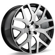 4ea 22 Ace Alloy Wheels Aff07 Gloss Black With Machined Face Rimss44