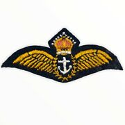 Ww2 Canadian British Rcn Rn Navy Nco Pilots Wings For 1 Dress