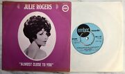 Julie Rogers - Almost Close To You B/w This Is Me, 1969 Ember S 267, Demo Pic Sl
