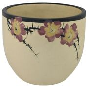 Weller Pottery Hudson White And Decorated Jardiniere