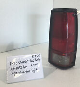 Used Vintage 1990 Chevy S10 Pick-up Truck Right Side Tail Lightdriversquality