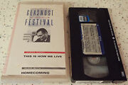 Glasnost Film Festival This Is How We Live Homecoming Vhs Russian English Subs