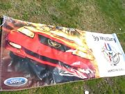 1999 Ford Mustang 35th Anniversary Dealership Showroom Promotional Banner Rare
