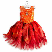 Disney Store Legend Of The Never Beast Fawn Fairy Costume Dress Girl Size 5/6