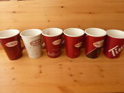 Tim Hortons Collector Coffee Mugs Xmas 2008 To 2013 Lot Of 6 Great Condition