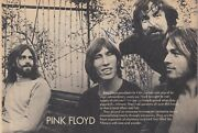 Pink Floyd Signed Vintage Photo David Gilmour And Nick Mason Rr Auction Coa