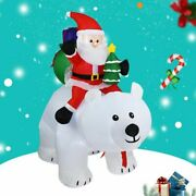1.8m Led Inflatable Santa Claus Snowman Christmas Toy Party New Year Decor