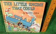 1961 Vintage Book- The Little Engine That Could By Watty Piper - Platt And Munk