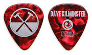 Roger Waters The Wall Dave Kilminster Red Guitar Pick - 2012 Tour Pink Floyd