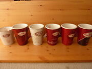 Tim Hortons Collector Coffee Mugs Xmas 2007 To 2012 Lot Of 6 Great Condition