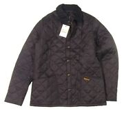 Barbour Menand039s Navy Heritage Liddesdale Quilted Jacket 230
