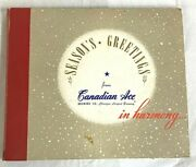 78 Rpm Christmas 1947 Canadian Ace Brewing Beer Chicago Ralph Martiere Trumpet