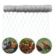 Galvanized Poultry Net - Metal Mesh Fencing / Chicken Wire 2 Holes