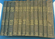Antique Hawkins Electrical Guide Books 12 Volumes 2nd Edition Gold Edging