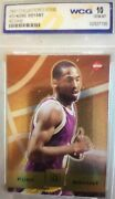 Kobe Bryant 1997 Collector's Edge 39 Wcg Graded 10 Rookie Card La Lakers