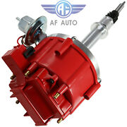 Red Hei Ignition Distributor 6522r Fits Gm 250 Chevy 292 230 Inline 6 Cylinder