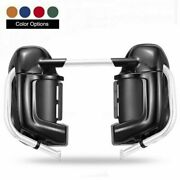 Advanblack Color-matched Lower Vented Fairing Set For Harley Hd Road Glide 03-13