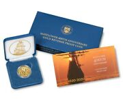 Presale Mayflower 400th Anniversary Gold Reverse Proof Coin