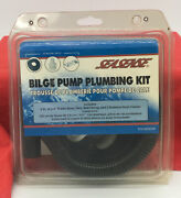 Seasense Bilge Pump Plumbing Kit Andmdashincludes 5andrsquo X 3/4andrdquo Hose Thru Hull And Clamps