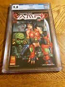 Vampi 1 Cgc 9.8 Nm Mint Harris 2000 Red Foil Edition Variant Cover