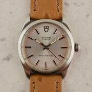 C.1968 Vintage Tudor Oyster By Rolex Ref.7991/0 Wristwatch In Stainless Steel