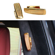 Sv Clothes And Hat Hook Cover Trim Golden Zinc Alloy For Range Rover L405 13-20