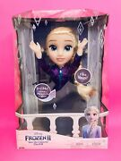 Disney Frozen 2 Elsa Interactive Musical Doll Lights Music And Phrases New