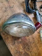 Harley Davidson Knucklehead Flathead Panhead Org.cycle Ray Front Lampe 1937 38