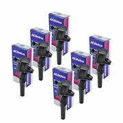 Set Of 6 Acdelco Ignition Coil 00bs2002 For Ford Lincoln Mercury 1997-2016