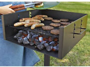 Guide Gear Heavy-duty Park Style Charcoal Grill Extra Large