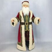 Old World Santa Doll 36'' Inches In Height - By Katherine's Collection